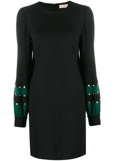 Tory Burch embellished jersey shift dress