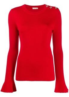 Tory Burch embellished knit jumper