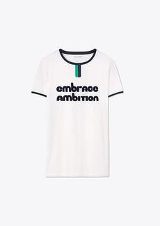 Tory Burch Embrace Ambition Ringer T-Shirt