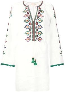 Tory Burch embroidered beach dress