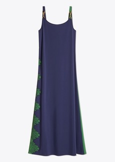 Tory Burch Embroidered Clip Tank Dress