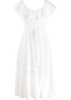 Tory Burch embroidered day dress