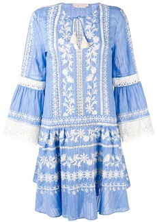Tory Burch embroidered flared dress