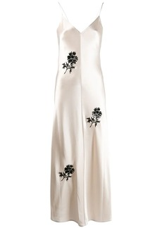 Tory Burch embroidered flower dress