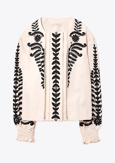 Tory Burch EMBROIDERED JACKET