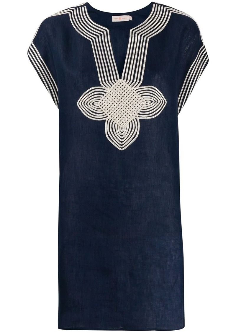 Tory Burch embroidered kaftan dress