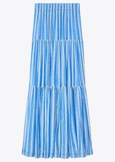 Tory Burch EMBROIDERED ORGANZA SKIRT