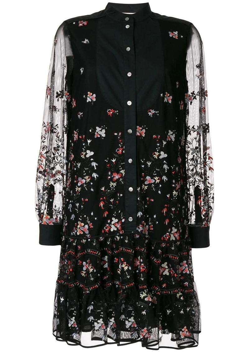 Tory Burch embroidered tunic dress
