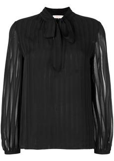 Tory Burch Emma bow blouse