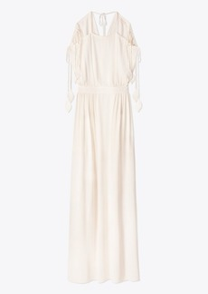 Tory Burch EVALENE TIE-SHOULDER DRESS