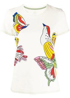 Tory Burch exotic print t-shirt