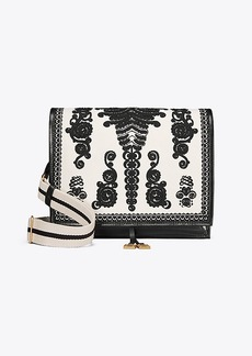 Tory Burch FARRAH EMBROIDERED SHOULDER BAG