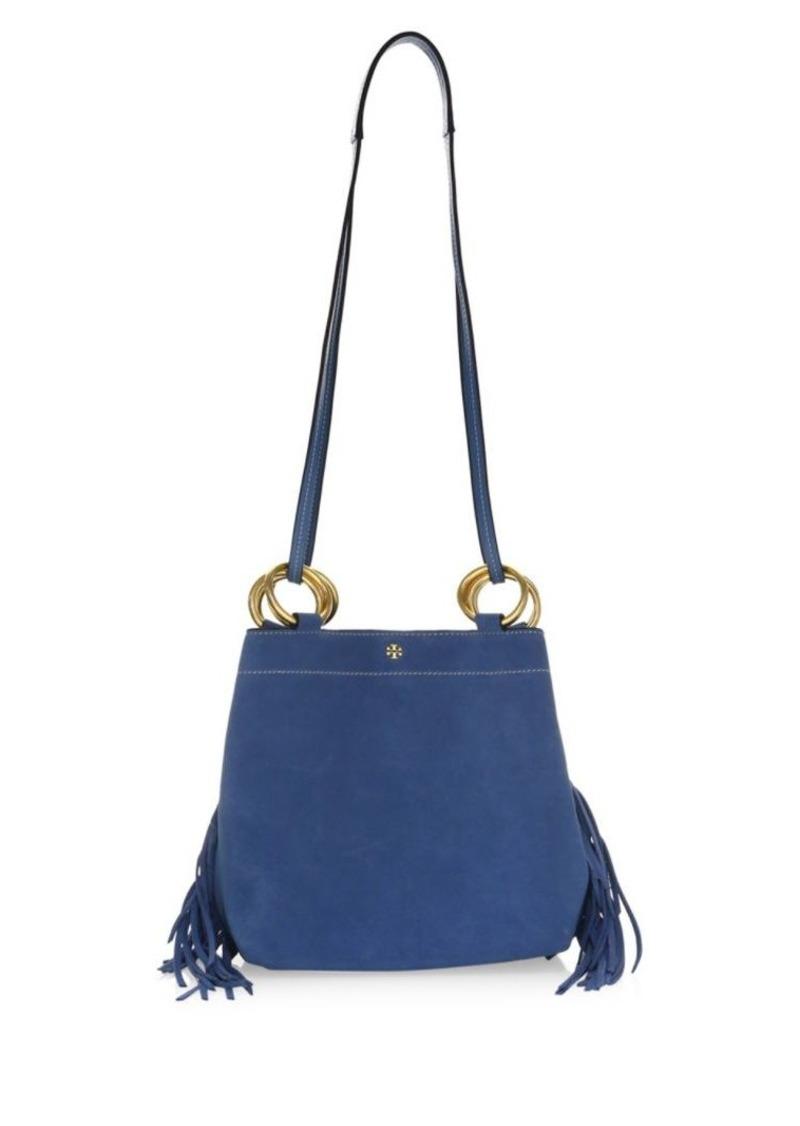 c3f2188f8aa Tory Burch Farrah Fringe Mini Shoulder Bag