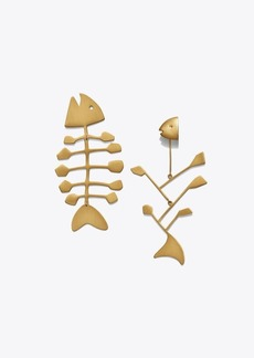 Tory Burch FISH MISMATCHED EARRING