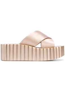 Tory Burch flatform crossover strap sandals