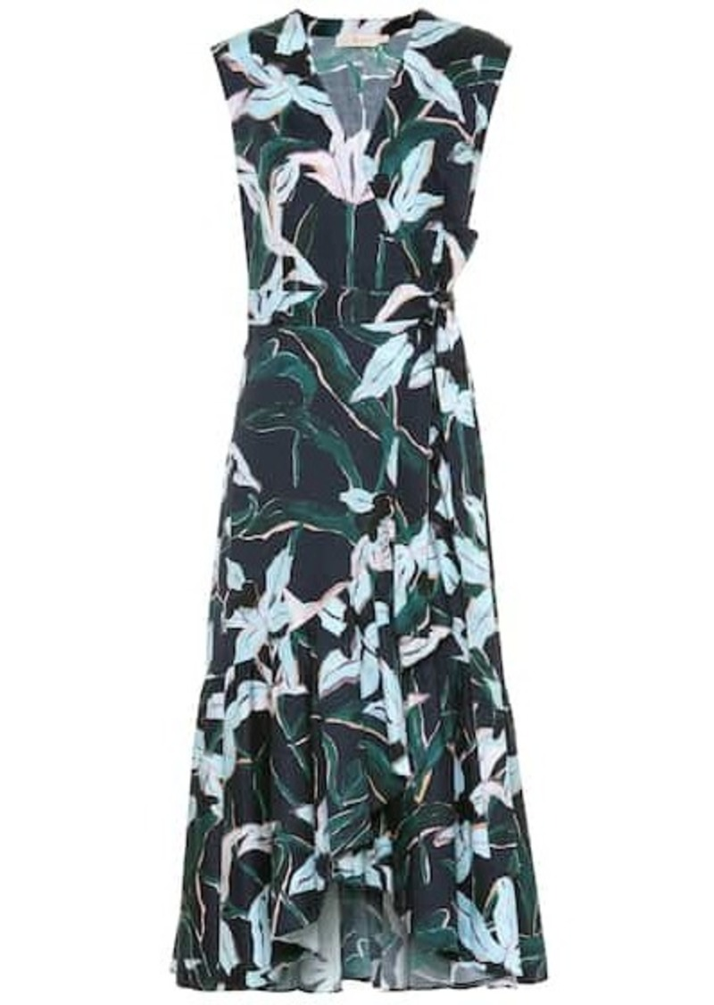 Tory Burch Floral cotton midi dress