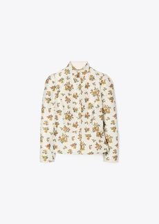 Tory Burch Floral Jacquard Jacket