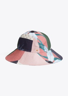 Tory Burch FLORAL PATCHWORK HAT
