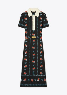 Tory Burch Floral Polo Dress