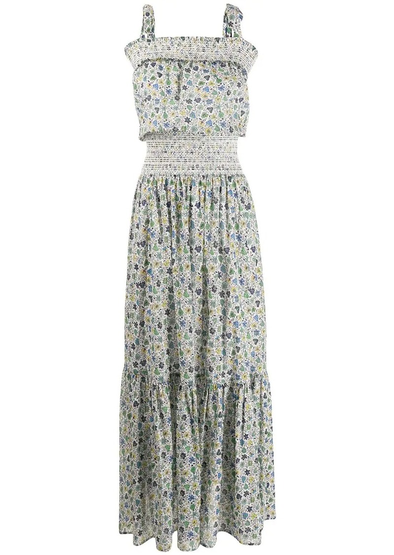 Tory Burch floral print flared dress