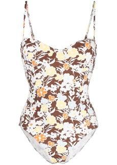 Tory Burch floral-print one-piece swimsuit