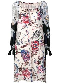 Tory Burch floral printing dress