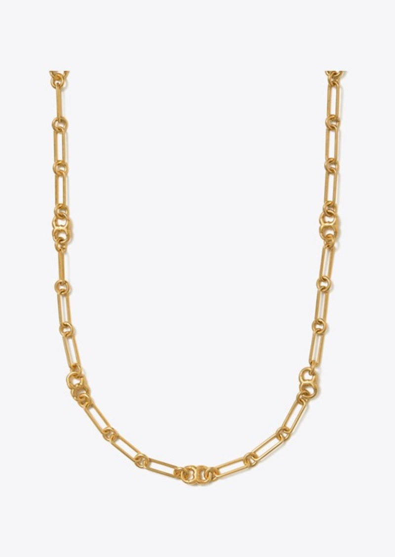 Tory Burch GEMINI LINK CHAIN NECKLACE
