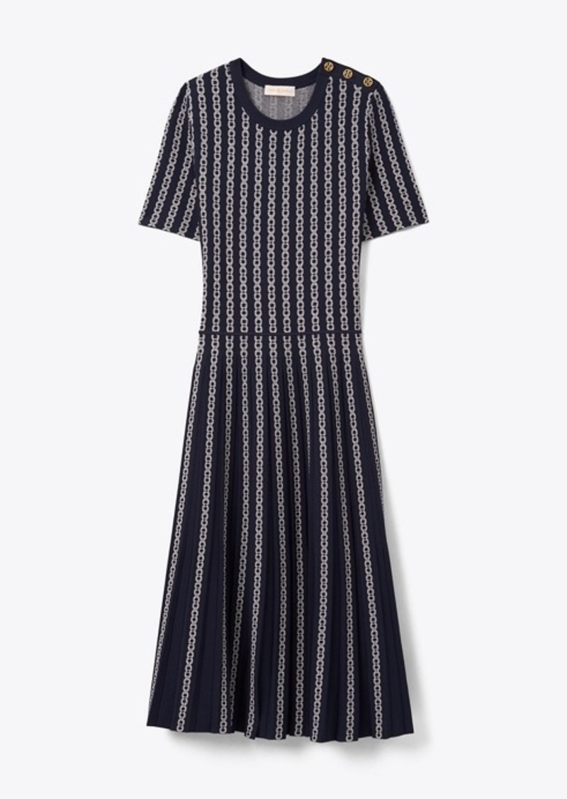 Tory Burch Gemini Link Jacquard Dress