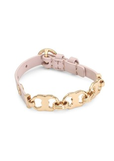 Tory Burch Gemini Link Leather Bracelet