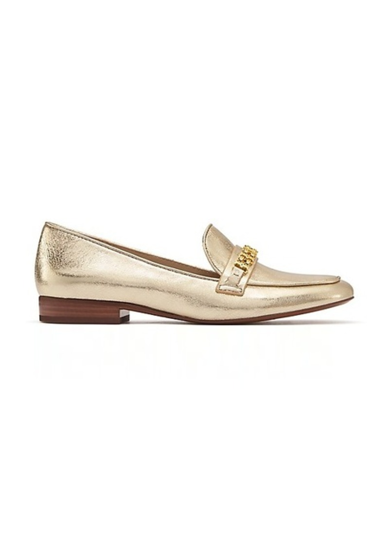 fcf69e744 Tory Burch GEMINI LINK METALLIC LOAFER Now  159.00