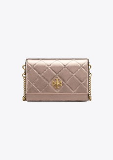 Tory Burch GEORGIA METALLIC TURN-LOCK MINI BAG