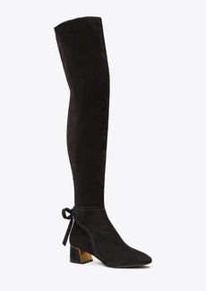 Tory Burch GIGI OVER-THE-KNEE ANKLE-TIE BOOT