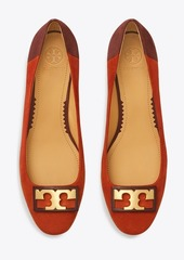 Tory Burch GIGI ROUNDED-TOE SUEDE FLAT
