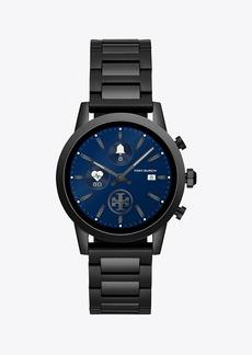 Tory Burch Gigi Smartwatch, Black-Tone Stainless Steel, 40mm