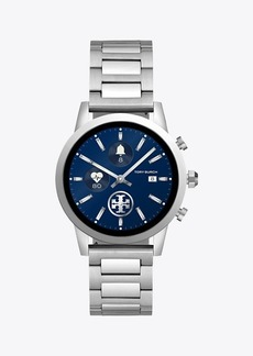Tory Burch Gigi Smartwatch, Stainless Steel, 40mm