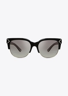 Tory Burch HALF-RIM SUNGLASSES