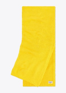 Tory Burch Hand-Knit Oversized Scarf