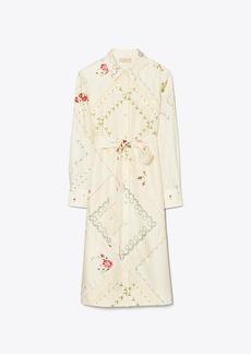 Tory Burch Handkerchief Printed Shirtdress