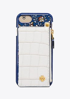 Tory Burch HARDSHELL POCKET-BACK CASE FOR IPHONE 8