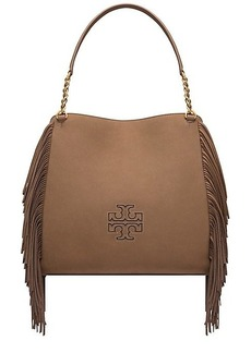 Tory Burch HARPER FRINGE CENTER-ZIP TOTE