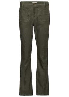 Tory Burch High-rise slim corduroy pants