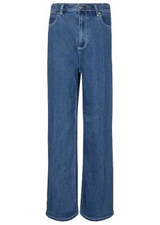 Tory Burch High-rise wide-leg jeans