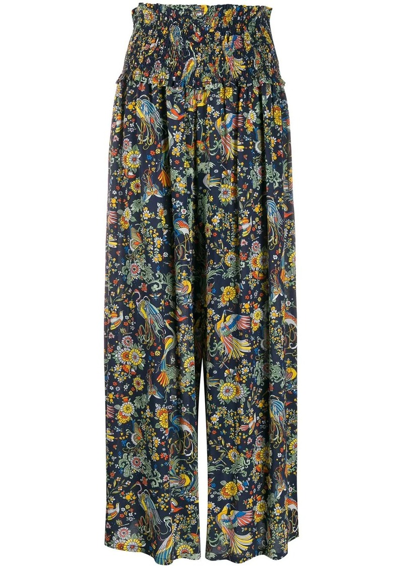 Tory Burch high-waist palazzo trousers