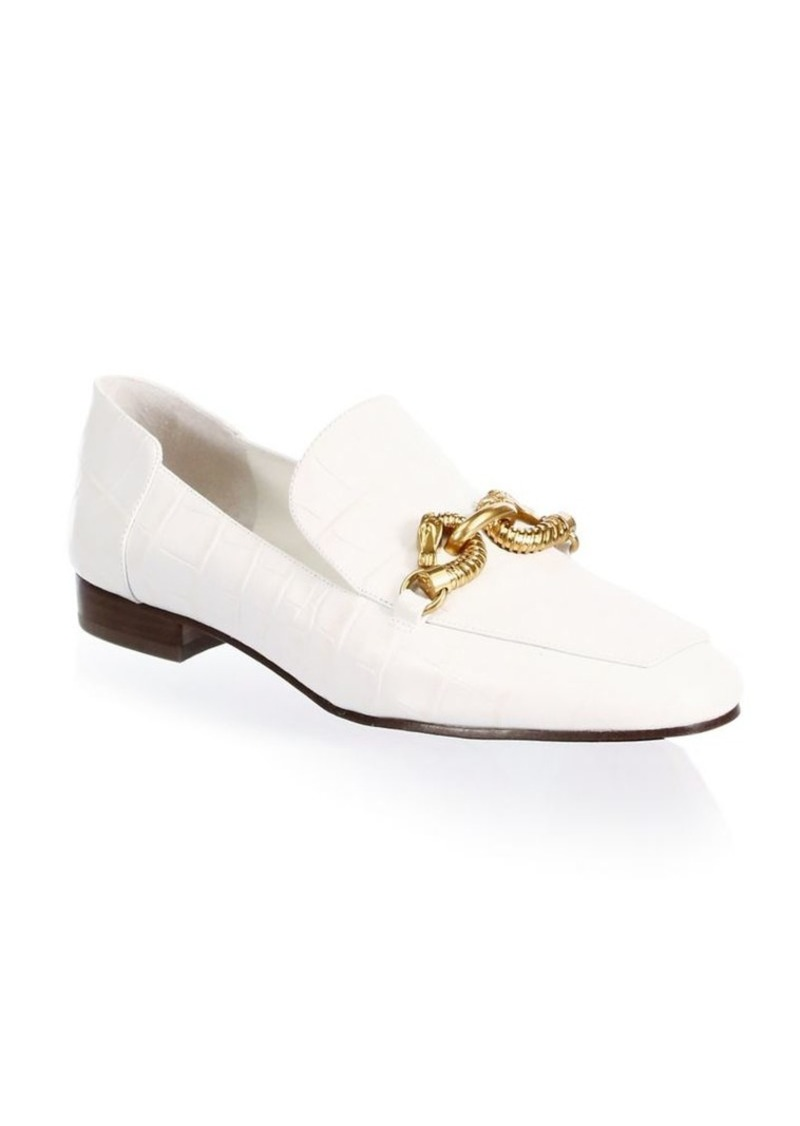 54a7e63b4 Tory Burch Jessa Leather Loafers
