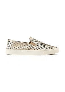Tory Burch JESSE METALLIC PERFORATED SNEAKER