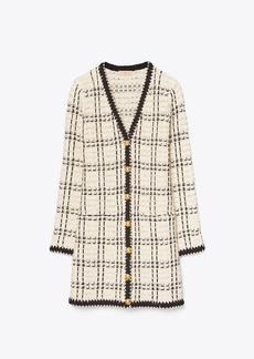 Tory Burch Kendra Tweed Coat