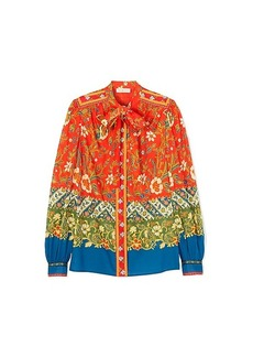 Tory Burch KIA BOW BLOUSE