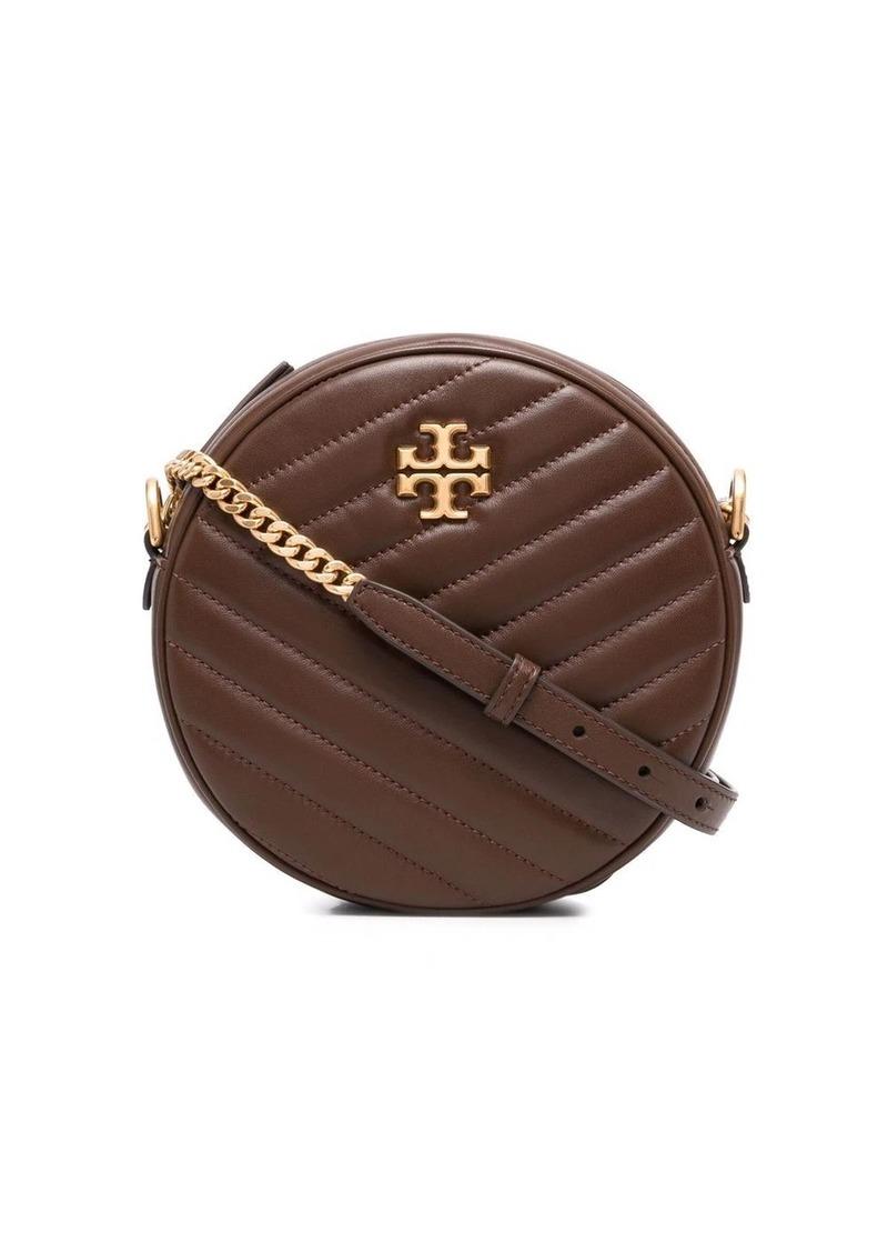Tory Burch Kira chevron circle crossbody bag
