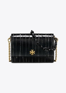 Tory Burch KIRA EEL DOUBLE-STRAP SHOULDER BAG