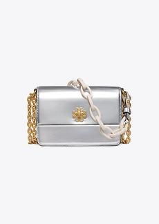 Tory Burch Kira Metallic Double-Strap Mini Bag